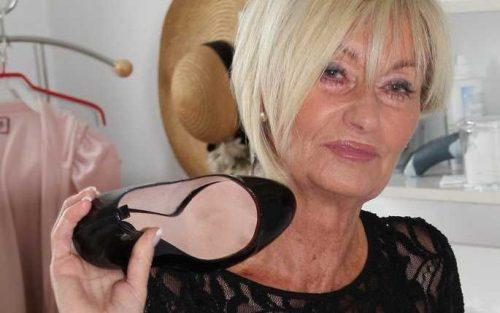 Natursekt Oma sucht Fussfetisch Liebhaber
